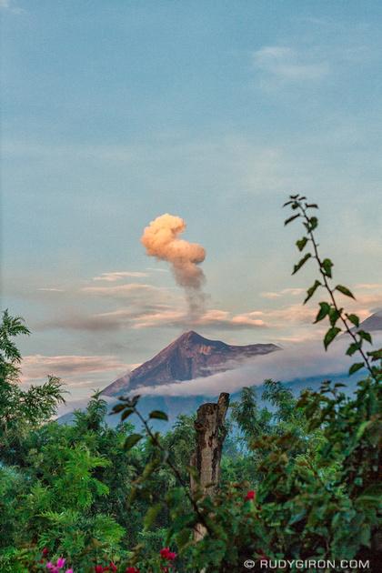 Rudy Giron: Antigua Guatemala &emdash; Majestic Fuego Volcano Eruptions