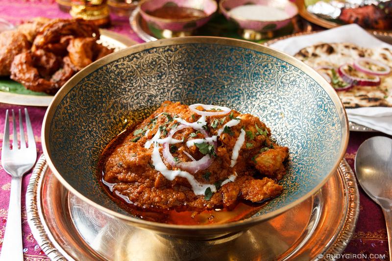 Rudy Giron: Food Photography &emdash; Chicken Tikka Masala from Ganesh, Antigua Guatemala