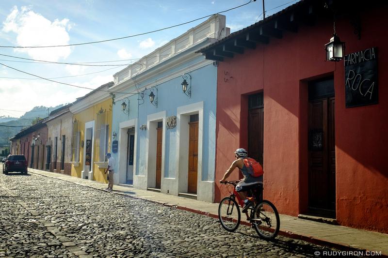 Rudy Giron: Antigua Guatemala &emdash; Antigua Guatemala Color Palette