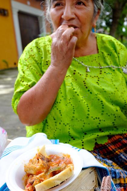 Rudy Giron: Antigua Guatemala &emdash; Lunch Cobanero in Alameda El Calvario