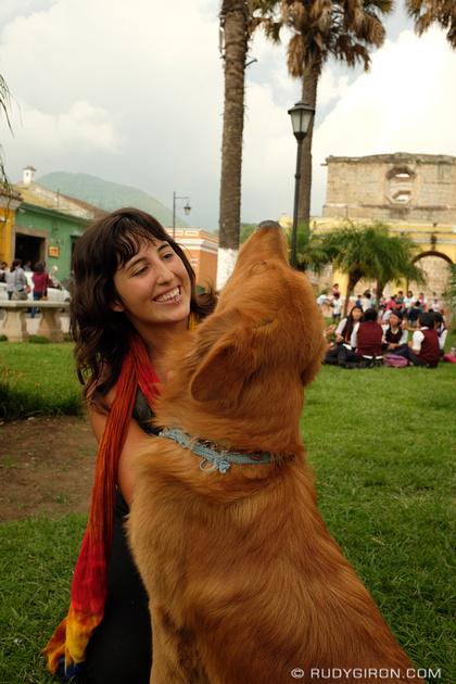 Rudy Giron: Antigua Guatemala &emdash; Happy creatures at Union Square