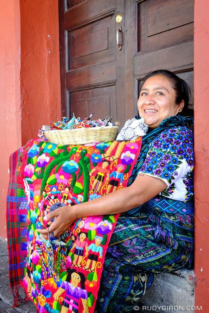 Rudy Giron: Antigua Guatemala &emdash; Guatemalan Color and Smiles