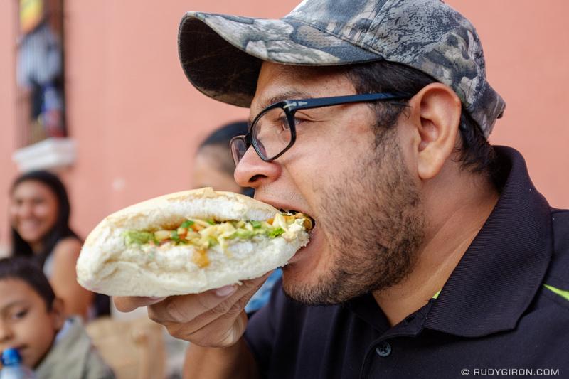 Rudy Giron: Antigua Guatemala &emdash; Guatemalan Street Food — Pan con pollo