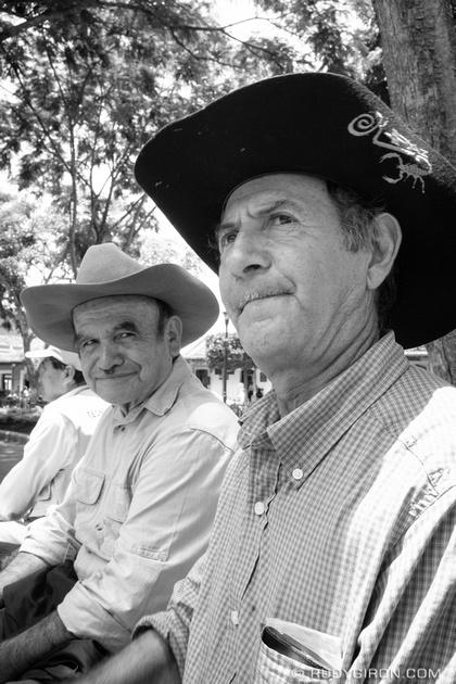 Rudy Giron: Antigua Guatemala &emdash; Street Portraits of Strangers — Men with Hats