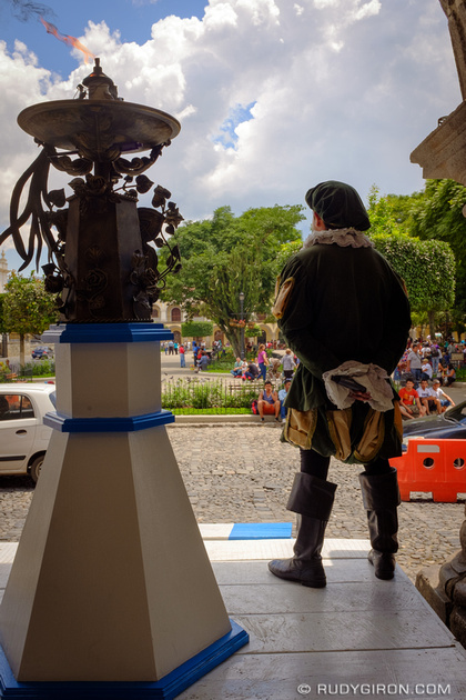 Rudy Giron: Antigua Guatemala &emdash; The Independence Flame is Ready for the Torches