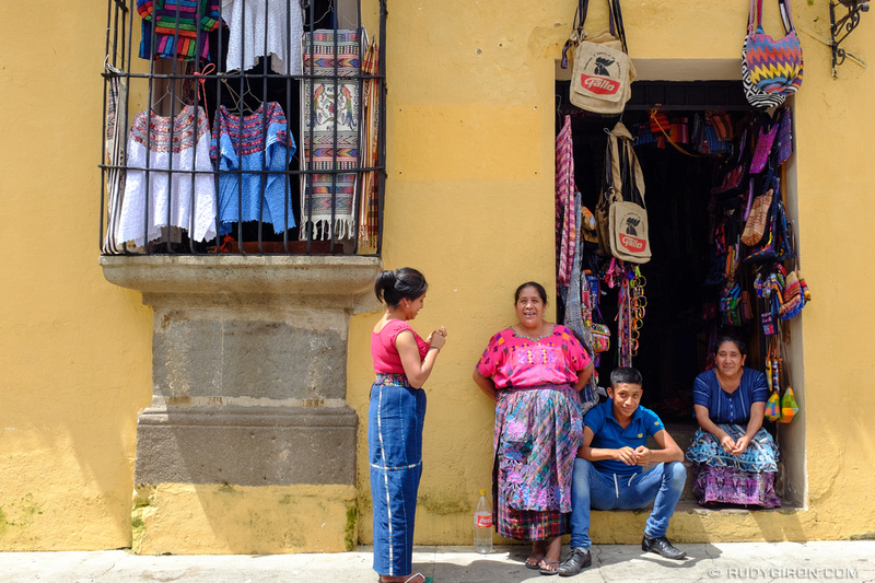 Rudy Giron: Antigua Guatemala &emdash; Family Business Meeting