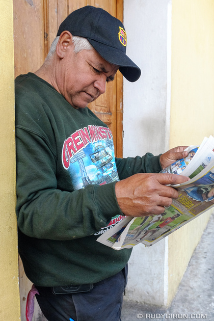 Rudy Giron: Antigua Guatemala &emdash; Who said newspapers are dead?