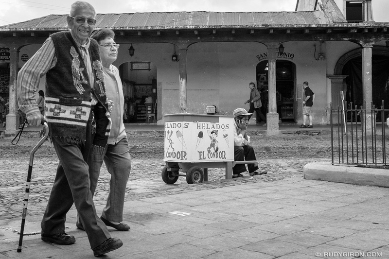 Rudy Giron: Antigua Guatemala &emdash; Street Photography — To Each Its Own