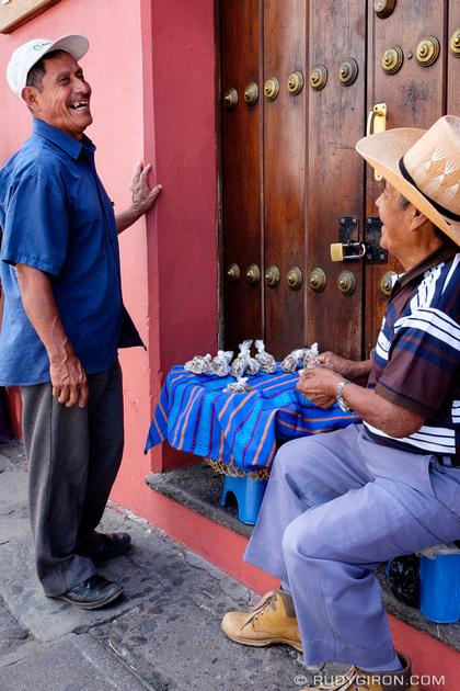Rudy Giron: Antigua Guatemala &emdash; Vistas from Antigua Guatemala streets — The nut transaction