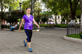 Everyday Guatemala — Exercise at Parque Central