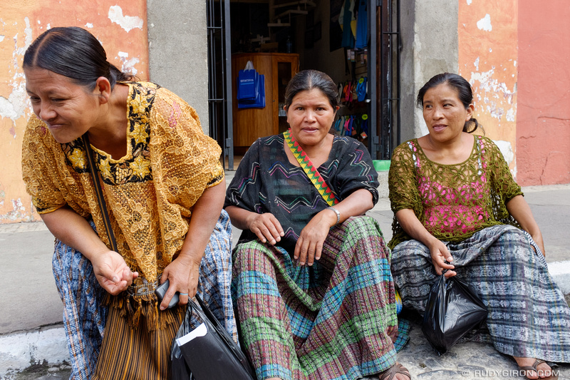 Rudy Giron: Antigua Guatemala &emdash; Portrait of Mayan Women_