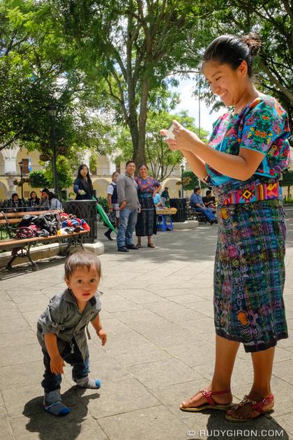 Rudy Giron: Antigua Guatemala &emdash; Captureing The First Steps