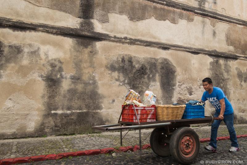 Rudy Giron: Antigua Guatemala &emdash; Eco-friendly fruit and vegetable delivery