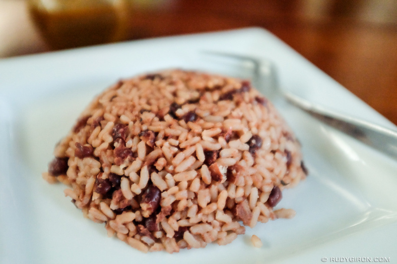 Rudy Giron: Antigua Guatemala &emdash; Guatemalan Food — Rice and Beans