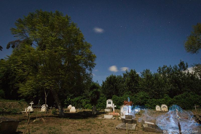 Rudy Giron: Night Photography at San Lázaro Cemetery &emdash; Night Photography Inside San Lázaro Cemetery-6
