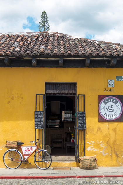 Rudy Giron: Antigua Guatemala &emdash; Coffee Shop Revolution in Antigua Guatemala