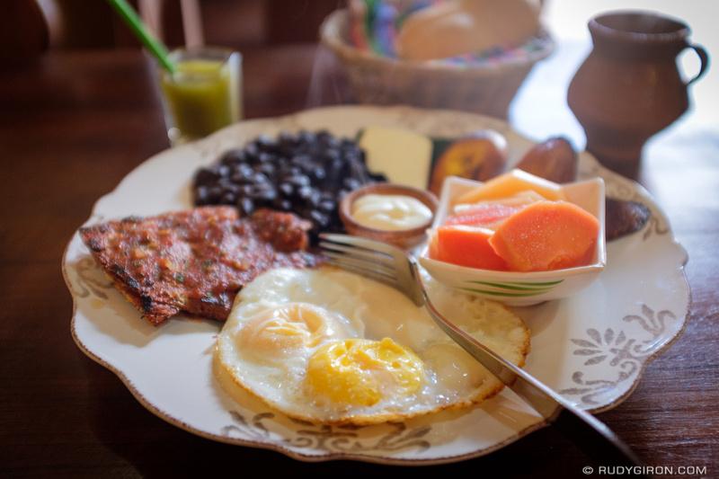 Rudy Giron: Antigua Guatemala &emdash; Guatemalan Breakfast Anyone, Anyone?
