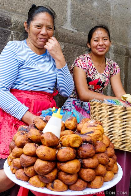 Rudy Giron: Antigua Guatemala &emdash; Portraits of Street Vendors — Rellenitos