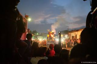Burning of the Devil in Antigua Guatemala