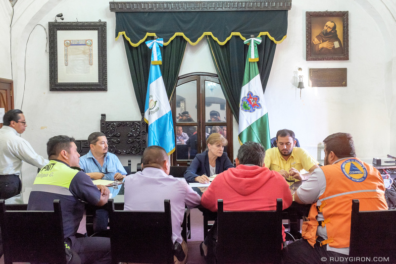Rudy Giron: Antigua Guatemala &emdash; Antigua Guatemala's Mayor at Work