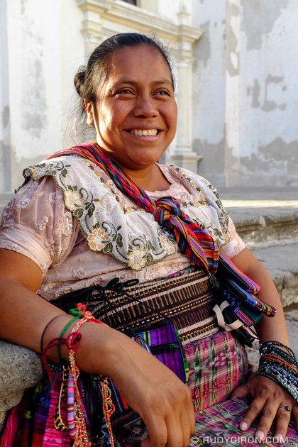 Rudy Giron: Antigua Guatemala &emdash; Street Portraits of Strangers — The Handicrafts Vendor-2