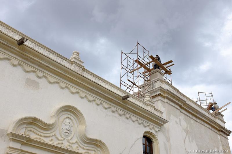 Rudy Giron: Antigua Guatemala &emdash; Antigua Guatemala Cathedral Ruins Restoration