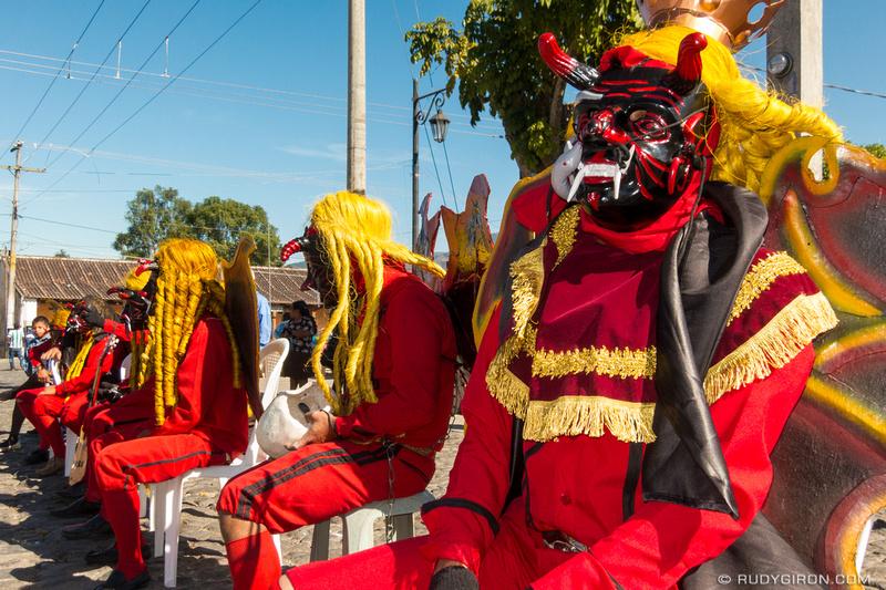 Rudy Giron: Antigua Guatemala &emdash; Guatemalan Devils in San Pedro Las Huertas, Antigua Guatemala