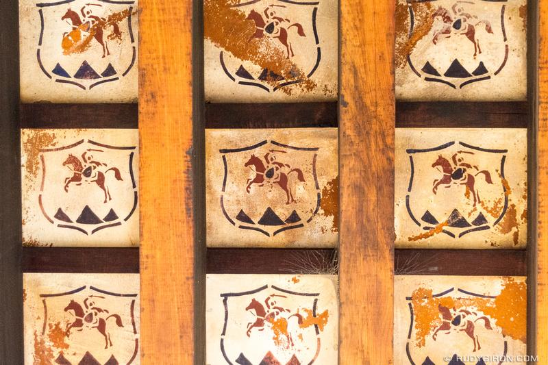 Rudy Giron: Antigua Guatemala &emdash; Santiago Roof Tiles