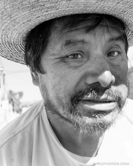 Rudy Giron: Antigua Guatemala &emdash; Street Portraits of Strangers — I'm 100% Chapin, he declared as I made his portrait