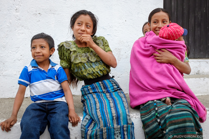 Rudy Giron: Antigua Guatemala &emdash; Maya Portraits — A Young Maya Family