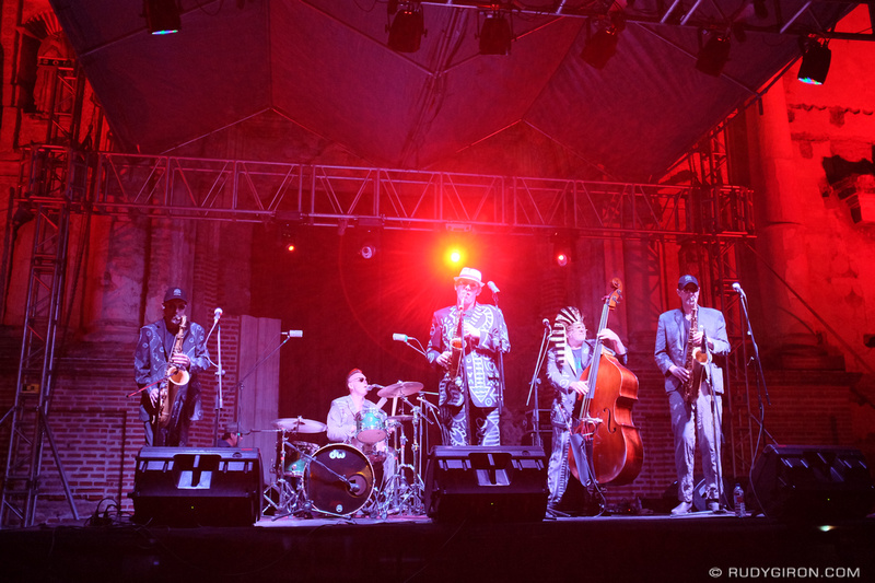 Rudy Giron: Antigua Guatemala &emdash; The Shuffle Demons at Guatemala's Jazz Festival in Antigua Guatemala