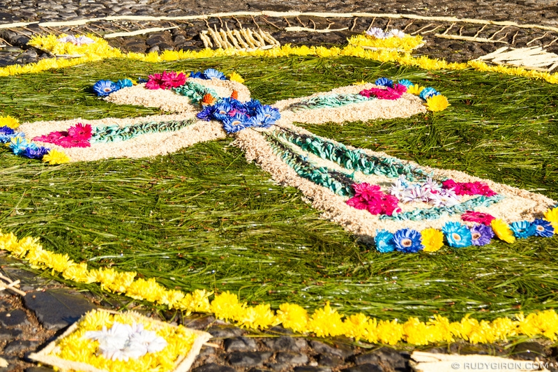 Rudy Giron: Antigua Guatemala &emdash; Lent Processional Carpet