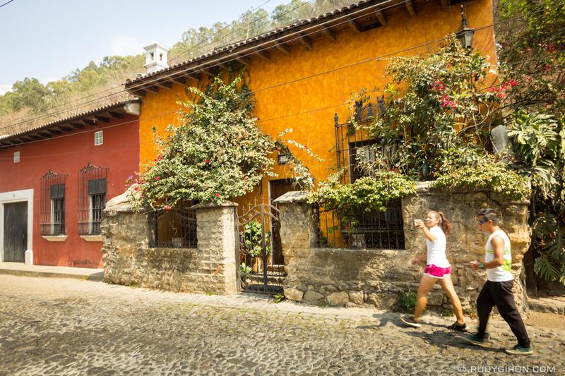 Rudy Giron: Antigua Guatemala &emdash; Exercising in Antigua Guatemala