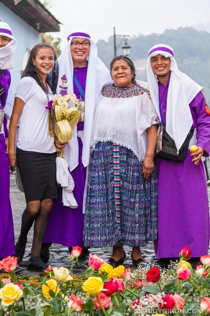 Rudy Giron: Antigua Guatemala &emdash; A Holy Week Atypical Vista