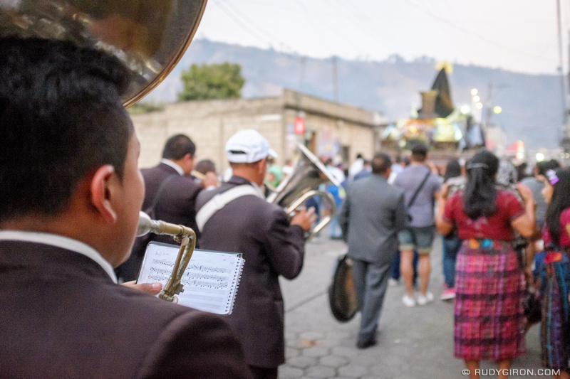 Rudy Giron: Antigua Guatemala &emdash; The End of the 2017 Holy Week