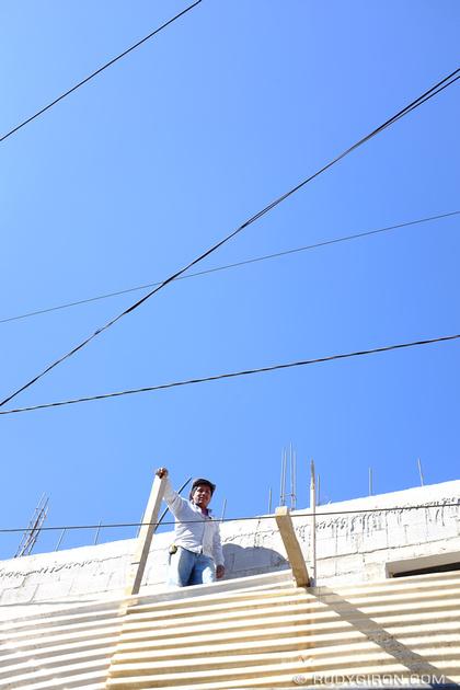 Rudy Giron: Antigua Guatemala &emdash; Construction Worker