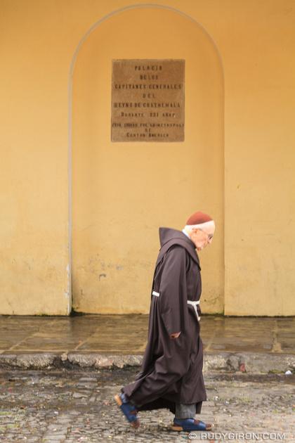 Rudy Giron: Antigua Guatemala &emdash; Franciscans Friars in Antigua Guatemala