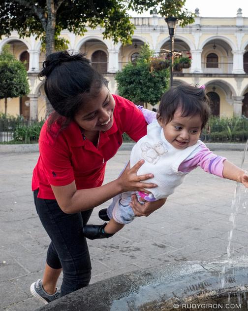 Rudy Giron: Antigua Guatemala &emdash; Fountains in La Antigua Guatemala
