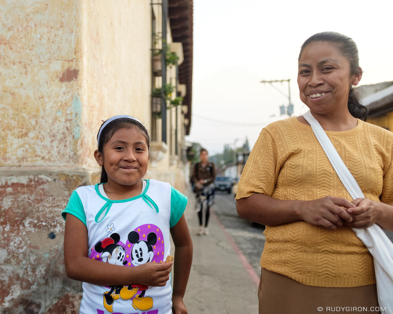 Rudy Giron: Antigua Guatemala &emdash; Guatemalan Smiles Are Free and Abundant