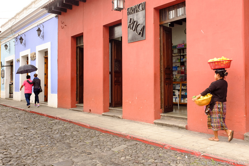 Rudy Giron: Antigua Guatemala &emdash; The colors of Antigua Guatemala