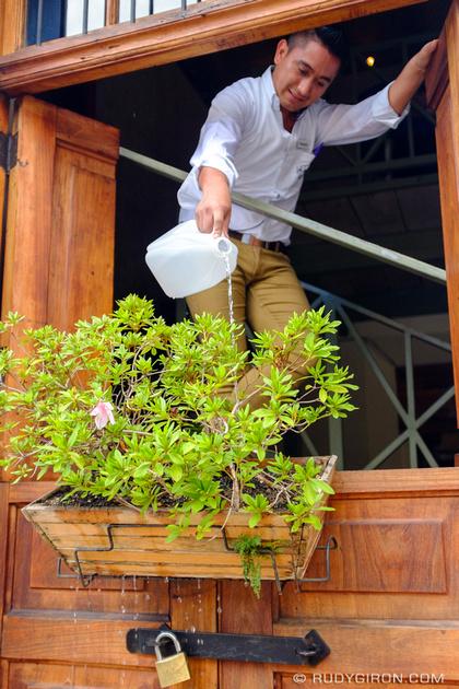 Rudy Giron: Antigua Guatemala &emdash; Watering the plants