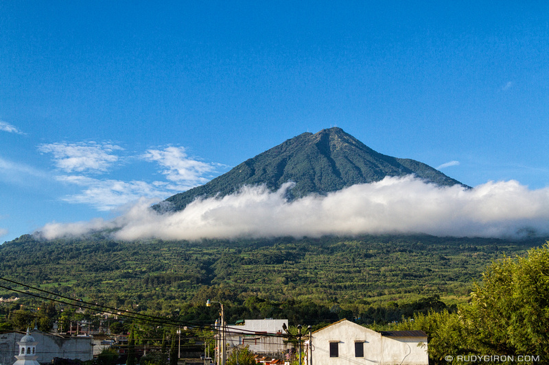 Rudy Giron: Antigua Guatemala &emdash; Summer morning in Antigua Guatemala