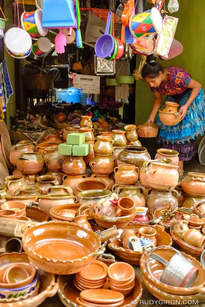 Rudy Giron: Antigua Guatemala &emdash; Ceramic shop in Santa María de Jesús