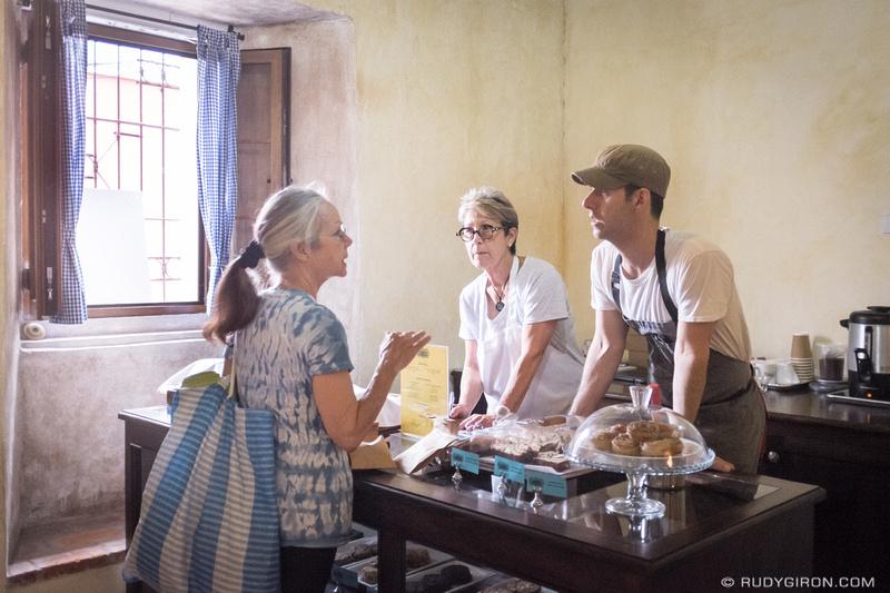 Rudy Giron: Antigua Guatemala &emdash; Canela bakery in Antigua Guatemala color
