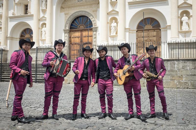 Rudy Giron: Antigua Guatemala &emdash; Mexican Music Band in Antigua Guatemala