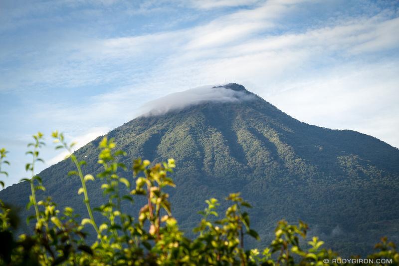 Rudy Giron: Antigua Guatemala &emdash; Sunrise over Volcan Agua in Antigua Guatemala