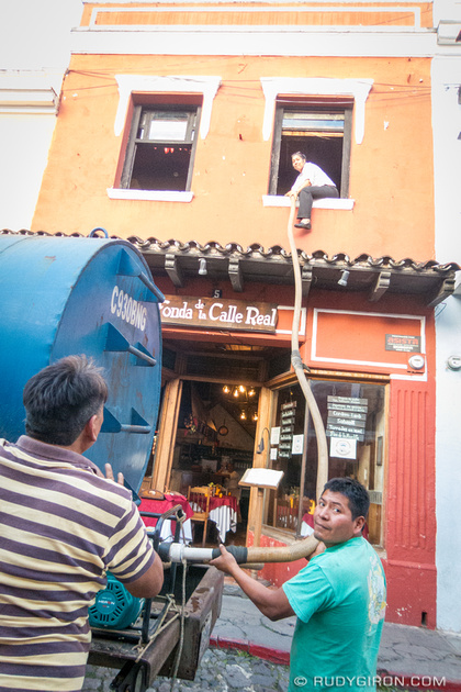 Rudy Giron: Antigua Guatemala &emdash; Give us water