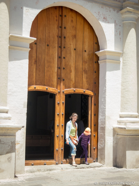Rudy Giron: Antigua Guatemala &emdash; Big tall doors of Antigua Guatemala