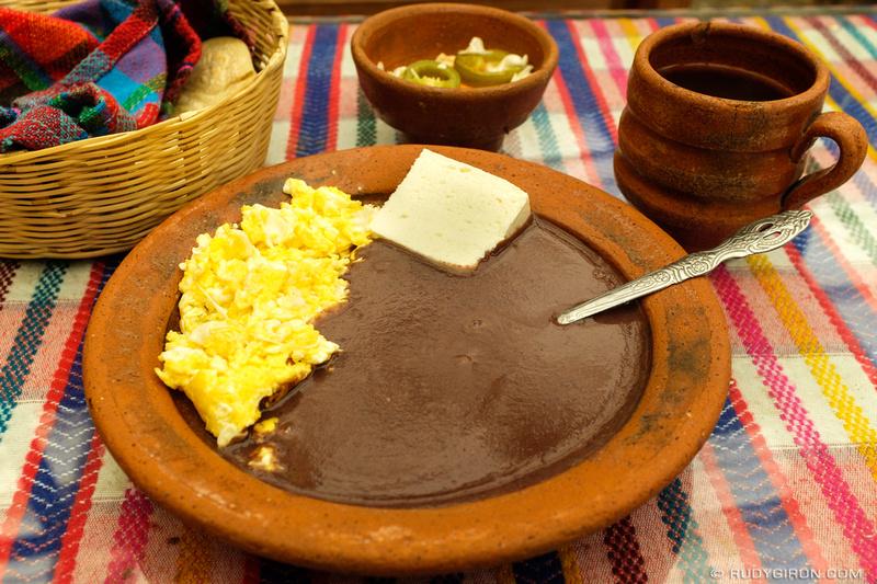 Rudy Giron: Antigua Guatemala &emdash; Guatemalan Traditional Breakfast