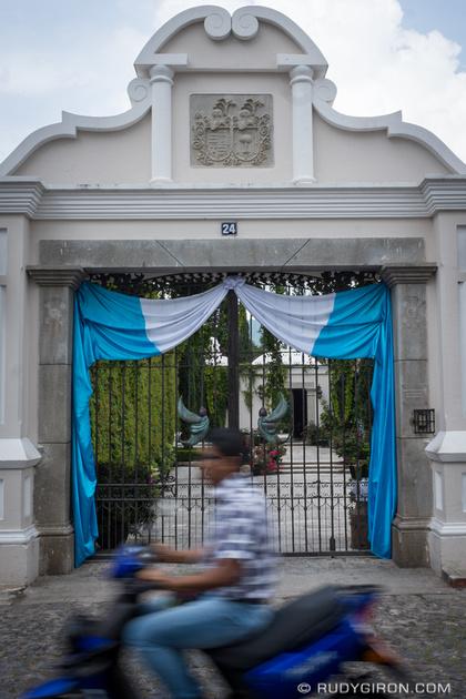 Rudy Giron: Antigua Guatemala &emdash; Independence Day Decorations
